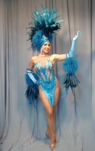 Turquoise Showgirl
