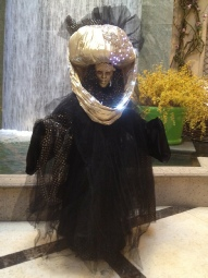 Black and Gold Mysterious Stranger