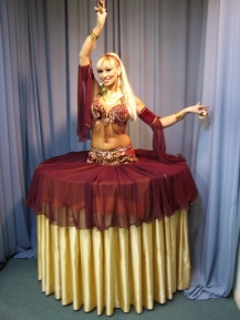 Belly Dancing Living Table