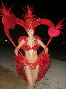 Red Heart Showgirl