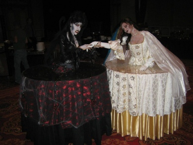 Halloween Living Tables